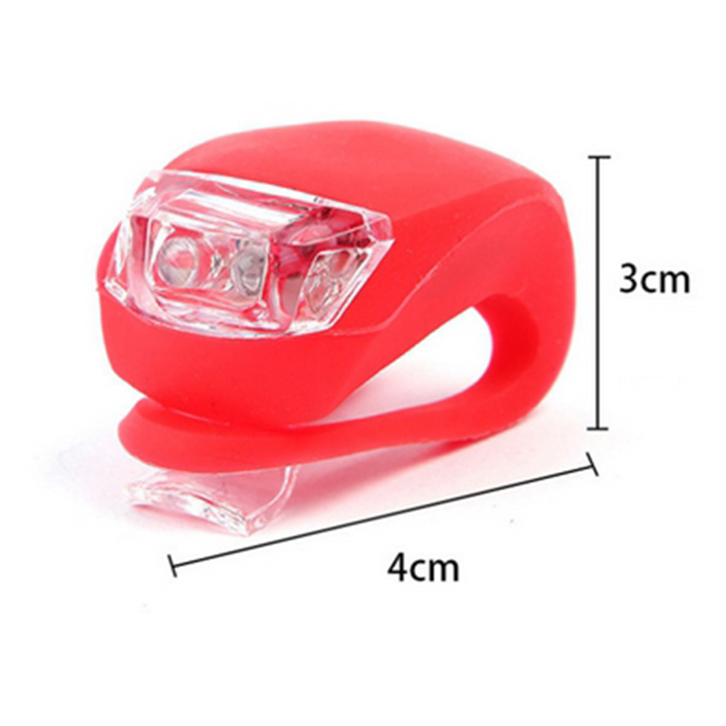 LED Bike Taillight Bicycle Front Rear Light Smart Warming Safety Headlight