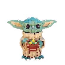 Legoins Строительный блок серии «Звездные войны», креативная детская игрушка с маленькими частицами йода в сборе, подарок на день рождения для ...(Китай)