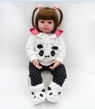 Детские куклы-Реборн, игрушки 48 см, силиконовые игрушки для новорожденных, популярные дети, ребенок малыш, кукла для девочек, живой Реборн, м...(China)