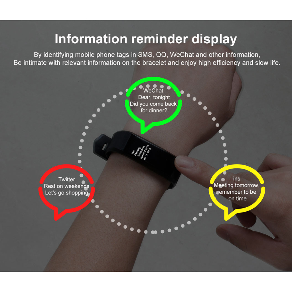 Fashion Sport Fitness Smart Watch Band Sleep Heart Rate Blood Pressure Bracelet Tracker Smartwatch Wristband For Women Men Watch