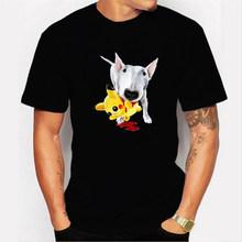 NO COFFEE NO workel camiseta PIKACHU POKEMON-pika Camiseta cuello redondo corto para hombre camisetas divertidas Pokemon-pikachu hombres camisetas(China)
