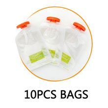Baby Food Maker Squeeze Organic Food Machine Kids Fresh Fruit Juice Feeding Containers Storage Newborn Breast Milk Storage Bag(China)