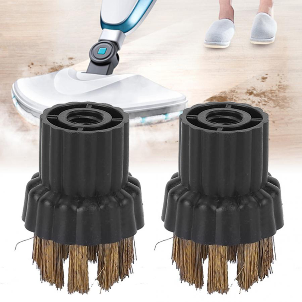 For Karcher Steam Mop Cleaners SC1 SC2 SC3 SC4 SC5 4Pcs Round Cleaning Brushes
