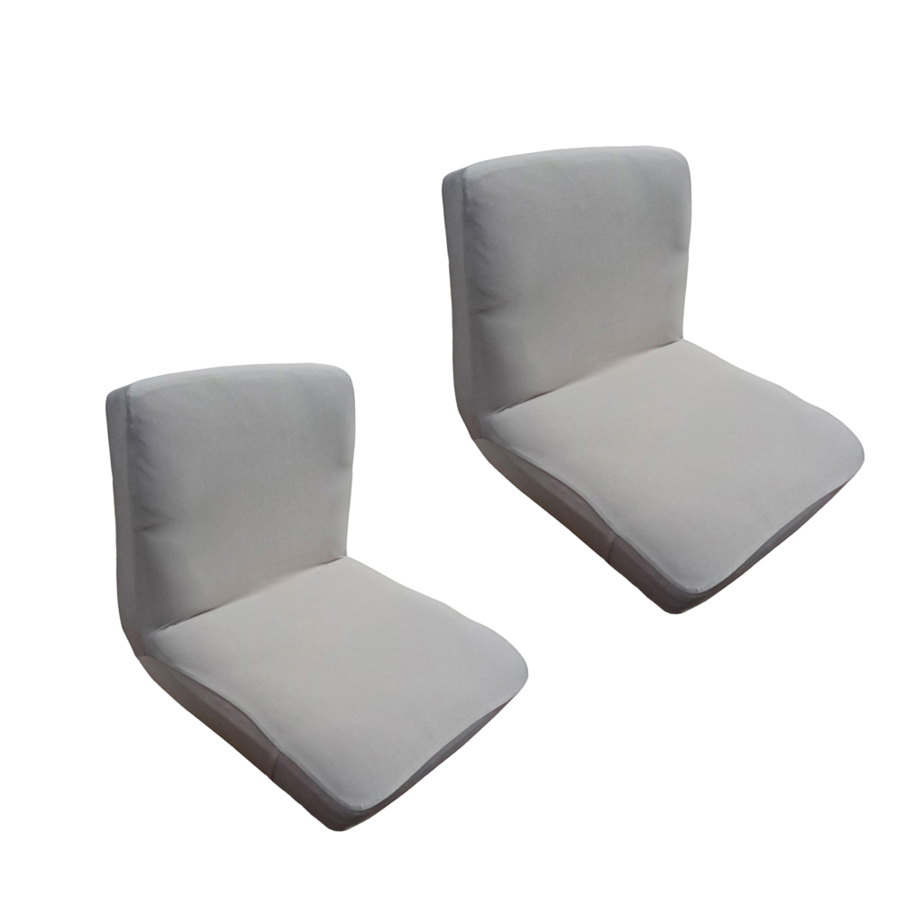 2Pcs Universal Dining Chair Cover Wedding Bar Tall Stool Slipcover Replacement
