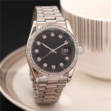 36mm Fashion Mens President Diamond Watch Women Automatic Movement Sapphire Dseigner Mechanical WristWatches LLSHI(China)