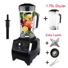 BPA Livre 3HP 2200W Heavy Duty Commercial Blender Misturador Processador de Alimentos máquina do Smoothie Bar de Gelo de Frutas Elétrico Espremedor De Alta Potência liquidificador(China)