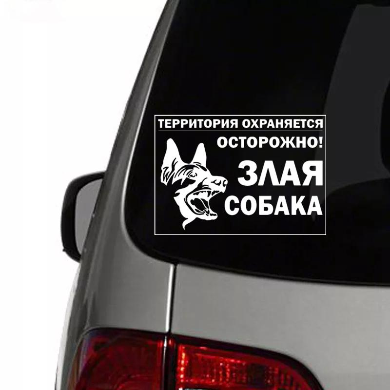 "/""SIZES/"" Dingo Dog Warning Sign Car Bumper Sticker Decal"