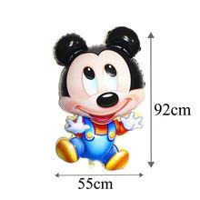 Mickey Minnie Tema Ulang Tahun Perlengkapan Pesta Sekali Pakai Tray Balon Lilin Mickey Minnie Dekorasi Pesta Bayi Ulang Tahun PAR(China)