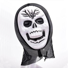 Halloween Mask Props Zombie Grudges Ghost Hedging Realistic Zombie Mask Halloween Masquerade Mask Long Hair Scary Ghost Mask(China)