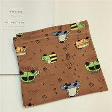Хлопковый Детский шарф Мультяшные детские нагрудники для мальчиков и девочек, милые детские воротники с круглым вырезом, шейный платок(China)