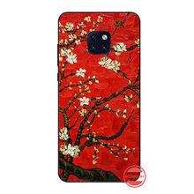 Art van gogh cover Phone Case Cover For Huawei Mate 9 10 20 Pro lite 20x nova 3e P10 plus P20 Pro Honor10 lite(China)