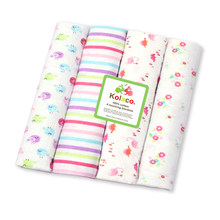 4 قطعة/الوحدة الطفل البطانيات الوليد الشاش حفاضات 100% القطن الطفل قماط بطانية لحديثي الولادة التصوير الاطفال الشاش قماش للف الرضع(China)