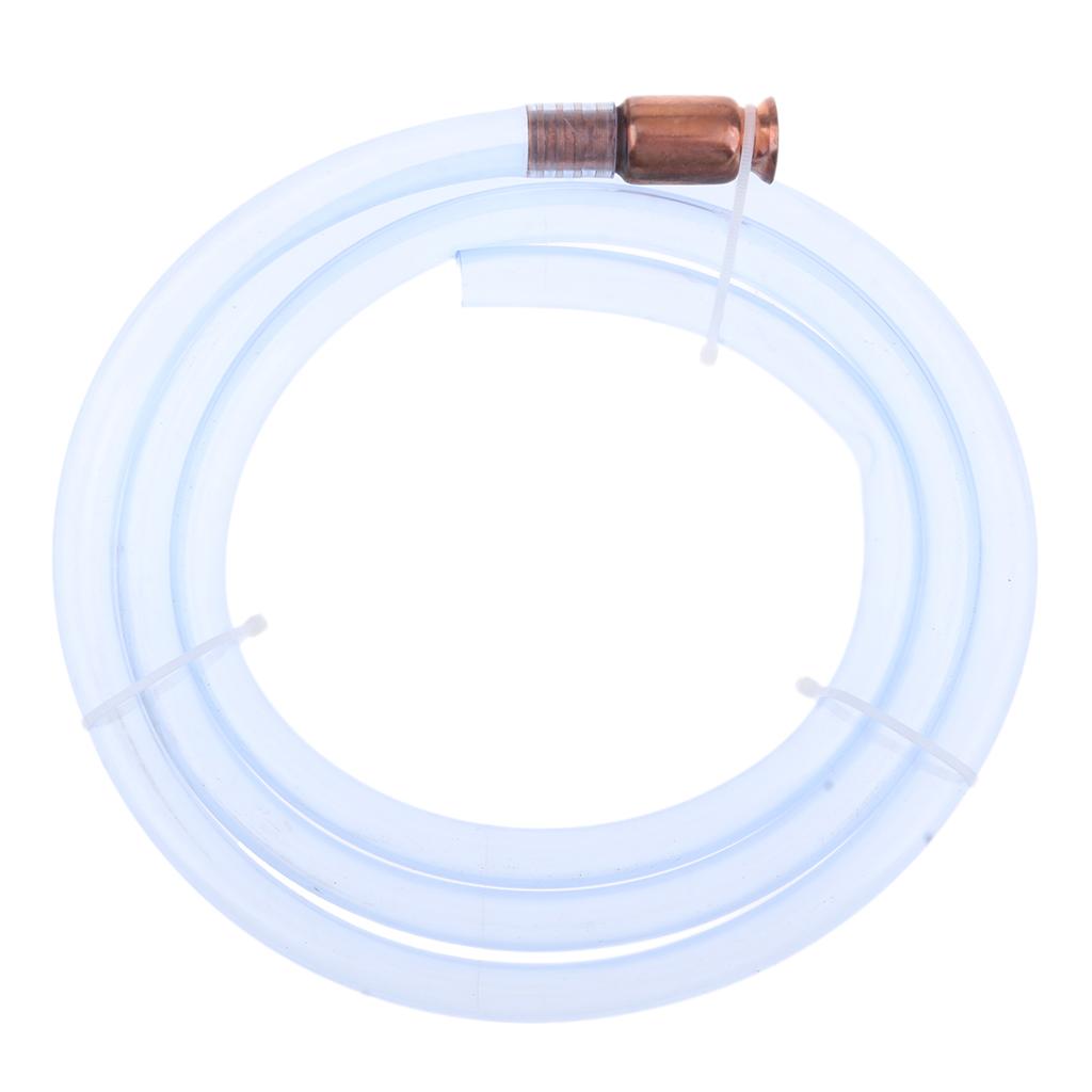 Shaker Siphon Hose Pump 6 Ft X 5/8 Inch Anti-Static Tubing Brass