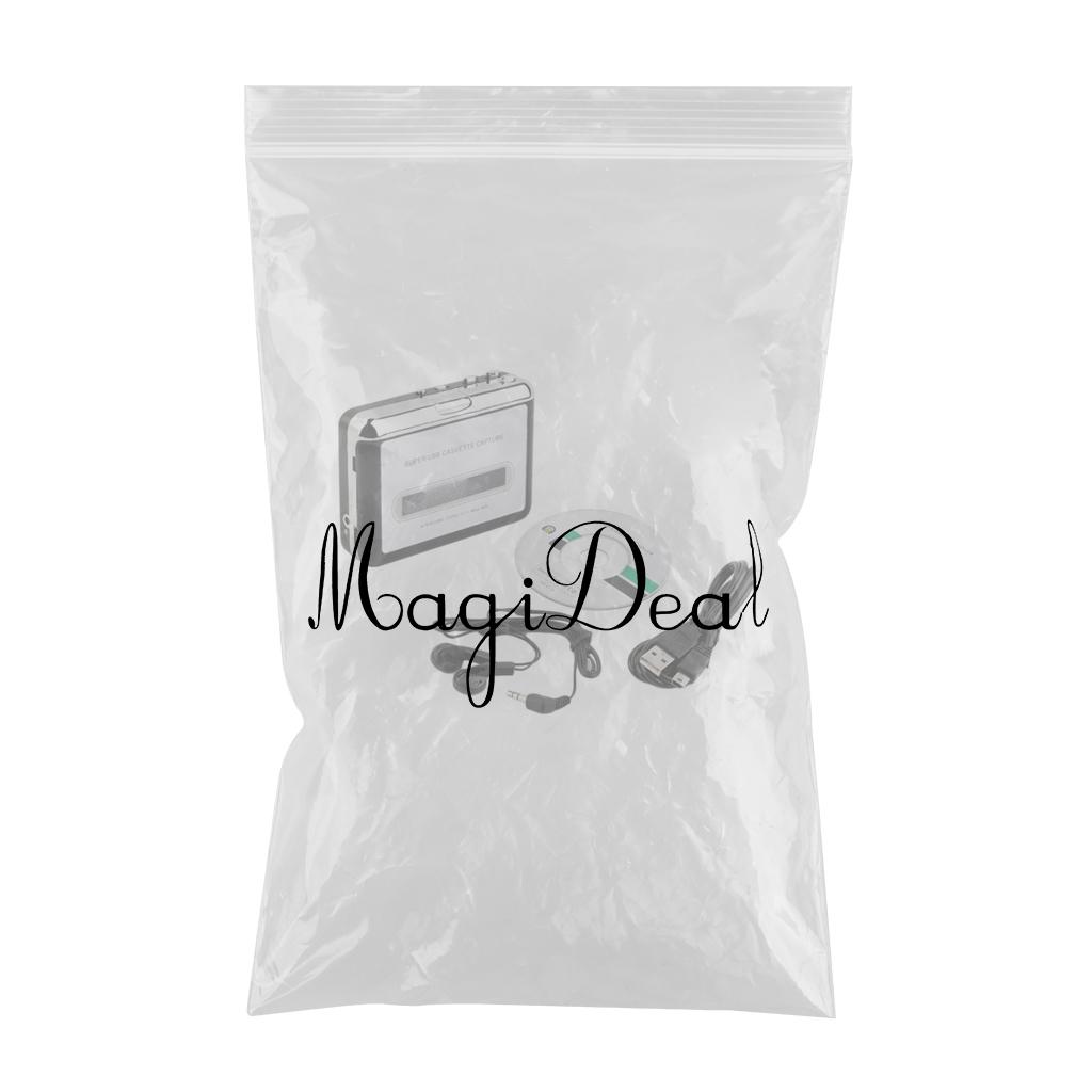 Walkman Digital Tape-to-MP3 Converter USB Cassette Adapter Hifi Music Player