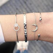 ZORCVENS nueva marca de moda Bohemia encanto pulsera mujer plata Color pulsera para mujer joyería regalos(China)