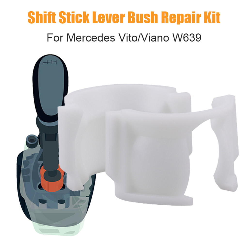 Gear Lever Selector Gearbox Socket Bush Repair Kit For Mercedes Vito Viano W639