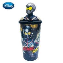 Disney Marvel Avengers Herói Homem de Formiga boneca copo com canudinho copo da mão copo de coque copo Dos Desenhos Animados da boneca de Brinquedo de Presente(China)