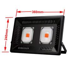 COB Spettro Completo LED Coltiva La Luce 300W di Crescita della Luce di Inondazione Impermeabile lampada Phyto per Impianto Al Coperto Growbox Idroponica(China)