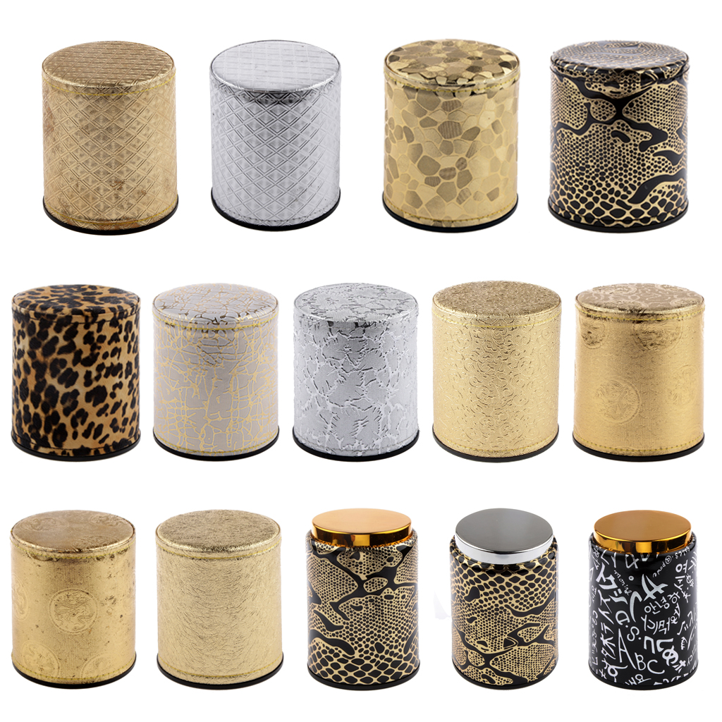 Stylish Dice Cup Shaker KTV Bars Pub Dice Games TRPG Casino Game Party Supplies for Dices Board Games