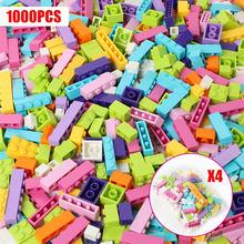 250-1000 piezas DIY bloques de construcción ciudad ladrillos creativos a granel modelo Idea figuras juguetes educativos para niños compatibles con todas las marcas(China)