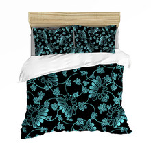 Bedding set Bedclothes Include Duvet Cover Pillowcase Print Home Textile Bed Linen Soft Green Pattern Fashion King-Full Size(China)