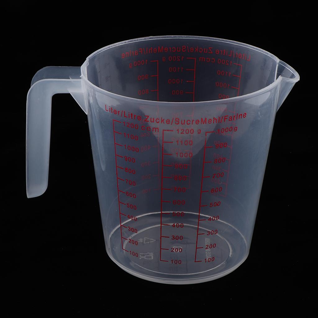 Plastic Measuring Cup Jug pour Spout Kitchen Tool Supplies I1I3