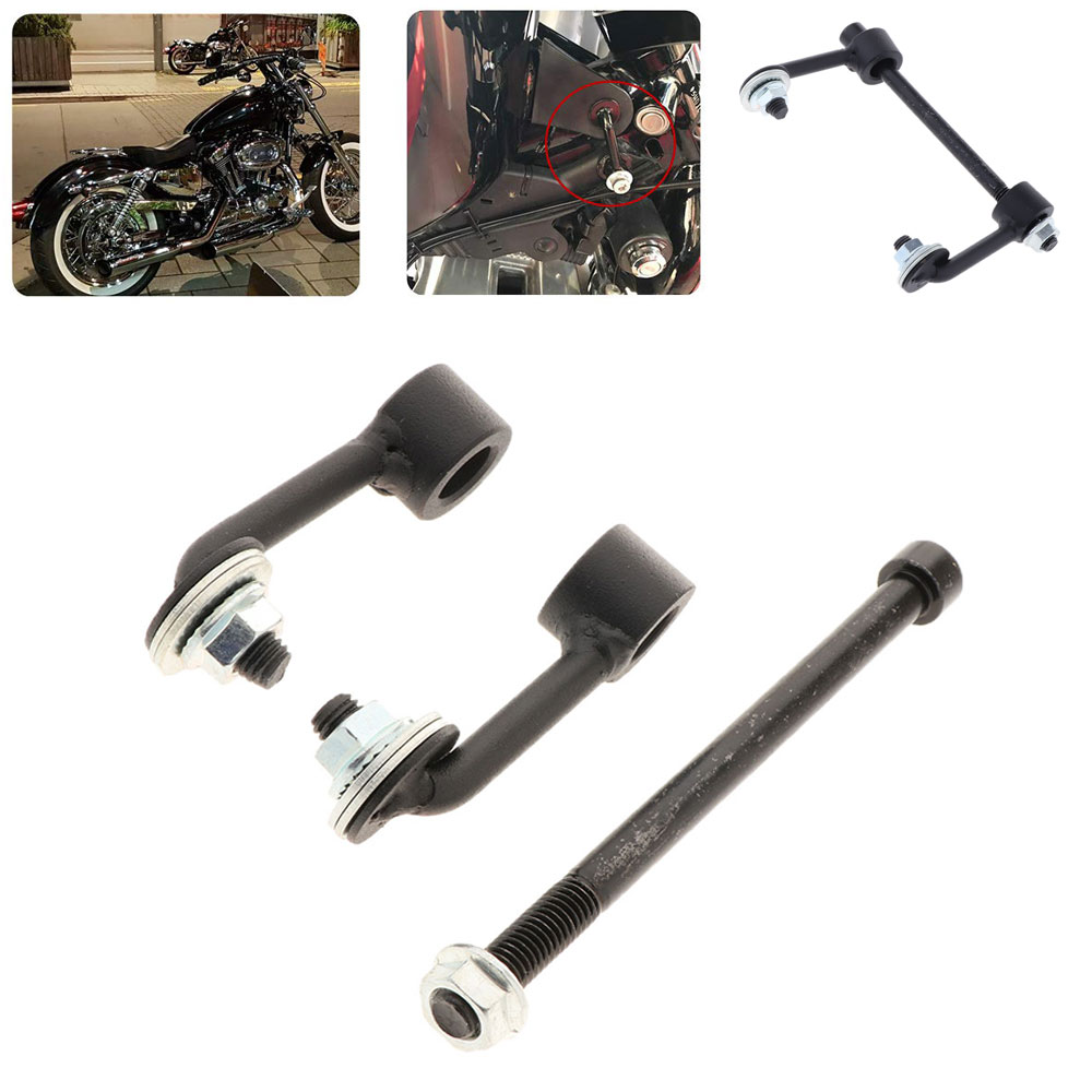 1 Set 2 Inch (5cm) Motorcycle Gas Tank Lift Kit For Harley Sportster Softail Touring XL883 1200 48 Motorbike Accessories