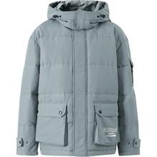 Metersbonwe 남성용 겨울 패딩 코트 캐주얼 롱 코트 웜 남성 겨울 파카 코트 방풍 후드 자켓 옴므(China)