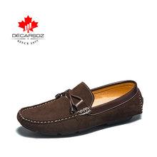 DECARSDZ erkekler loafer ayakkabılar ilkbahar ve sonbahar rahat tekne erkek ayakkabıları eğlence sürücü ayakkabı yüksek kaliteli marka gündelik erkek ayakkabısı(China)