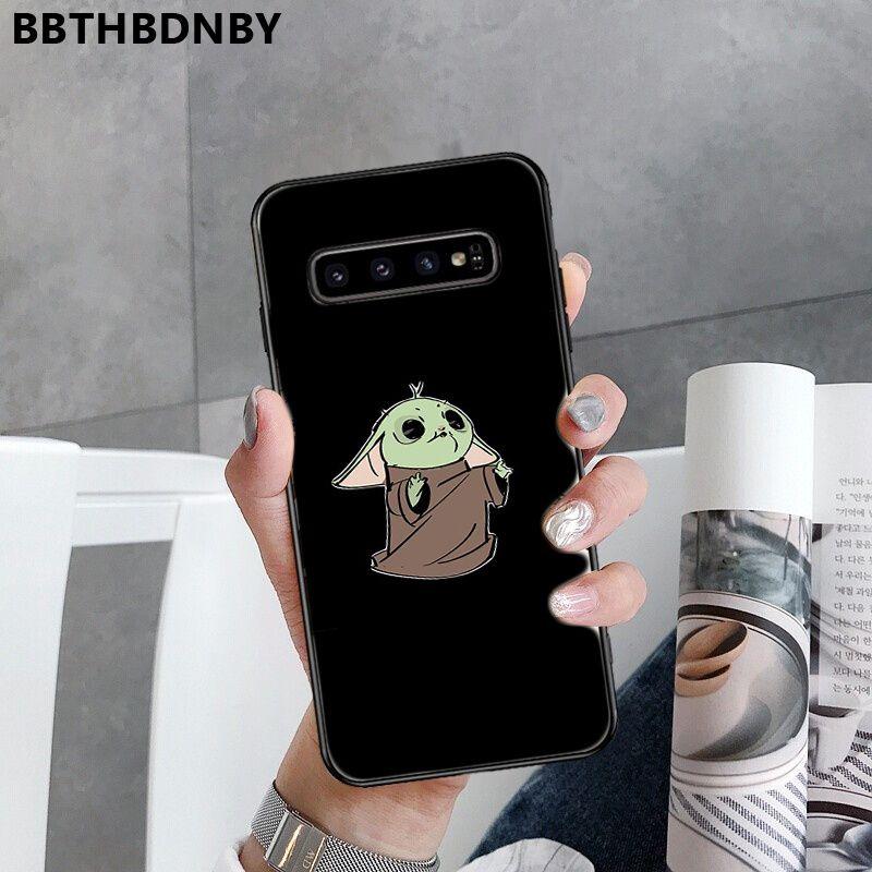 For Galaxy S9 Pochette Baby yoda Stitch