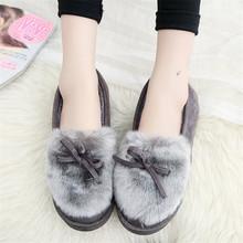 DORATASIA yeni sıcak satış kız kış sıcak düz çizmeler bayanlar kürk Docorating yarım çizmeler kadın 2019 gündelik slip-on ayakkabılar kadın(China)