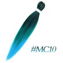 MSTN плетеные волосы для наращивания, Омбре, черный, коричневый, золотой цвета, огромные косички, вязанные волосы, синтетические, легко плетаю...(China)