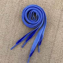 Cordones de superficie de terciopelo de 1,6 cm de ancho para zapatillas Unisex negro colorido para deportes al aire libre zapatos cordones casuales mujeres hombres cordones de zapatos(China)