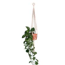Handmade macrame Plant hanger ดอกไม้/หม้อแขวนหม้อถาดสำหรับตกแต่ง countyard/สวนหม้อถาดสำหรับพื(China)