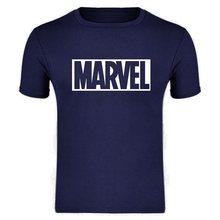 MARVEL T-Shirt 2019 nouvelle mode hommes coton manches courtes décontracté homme T-Shirt Marvel t-shirts hommes haut pour femme t-shirts XXXL(China)