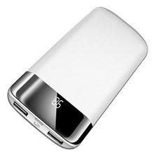 ل شياو mi mi iphone 6 7 8 X XS 30000mah قوة البنك بطارية خارجية PoverBank 2 USB LED تجدد Powerbank المحمولة المحمول الهاتف شاحن(China)