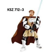 Звездные войны фигурка кирпича модель фасма Штурмовик праетор охранник Obi Wan Kenobi гривус Рен строительные блоки игрушка(Китай)
