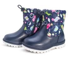 ילדים של מגפי בנות יותר מאשר בני צמר סגנונות מגפיים עמיד למים בנות אתחול ספורט נעלי פרווה רירית ילדים נעלי למכור(China)