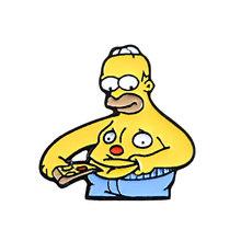 Screwy האנטר מארג 'Rart Mr כוויות בת ים טלוויזיה להראות קריקטורה אופי nternet meme סיכת חמוד אמייל סיכות עבור אוהדים(China)