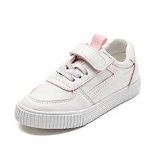 בני לבן נעלי סניקרס בנות טניס נעלי 2020 חדש אביב מיקרופייבר ילדים הנעלה Chaussure זאפאטו רך ילד נעליים יומיומיות(China)