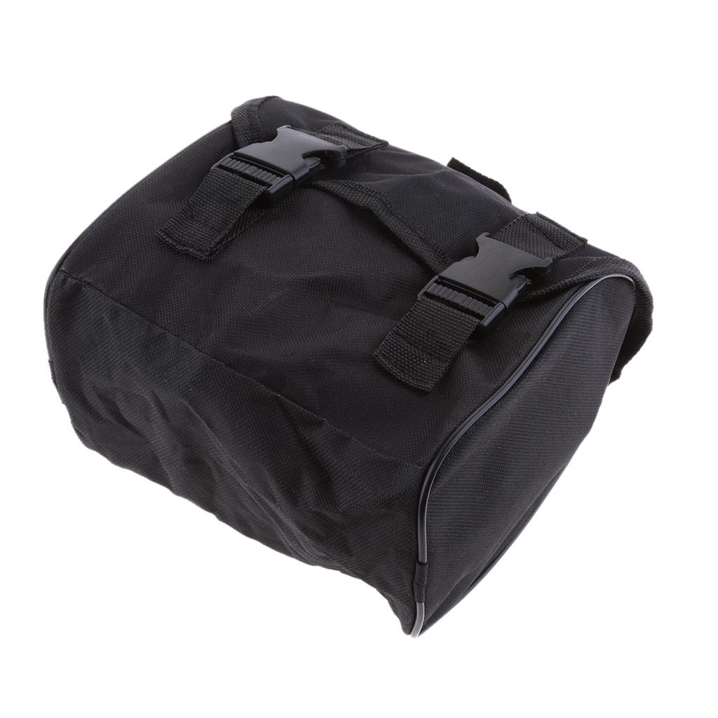 Black Organizer Bag Storage Handbag for Car Air Compressor Pump Tools