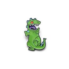 L3066 Tokoh Anime Dinosaurus Enamel Pin untuk Ransel/Tas/Jeans Pakaian Lencana Kerah Pin Bros Perhiasan 1 Pcs(China)