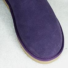 Da Thật Chính Hãng Da Nữ Cổ Chân Giày Mùa Đông Nữ Ủng Nữ Giày Nữ Thật LÔNG BƯỚM Nền Tảng Nữ Plus Kích Thước De(China)