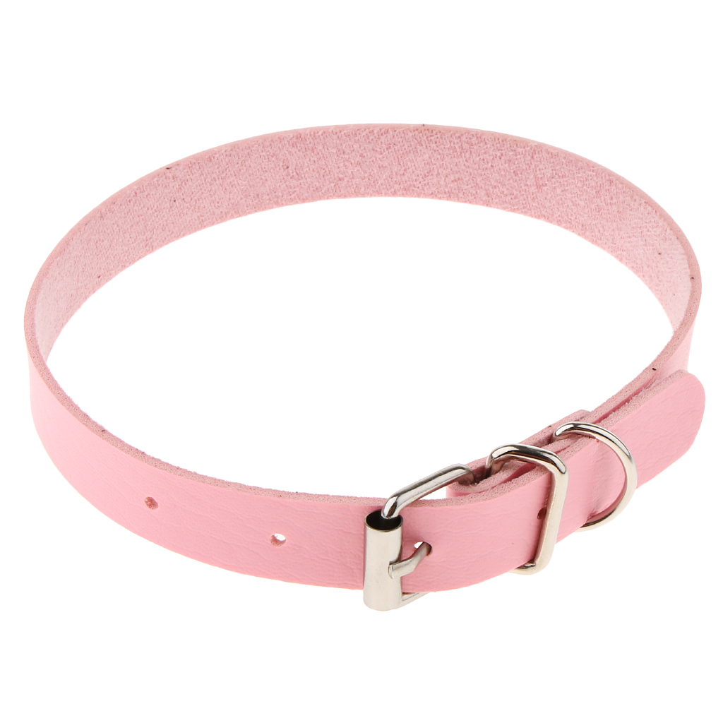 Womens Leather Buckle Belt Collar Necklace Punk Gothic Chain Bracelet Choker Party Accessory