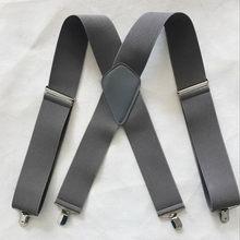 Huobao Cổ Điển Cho Nam Quân Sự Treo Áo Nam Rộng 5 Cm Ngụy Trang Suspender Của Người Đàn Ông Nẹp Armygreen Chiến Thuật Suspensorio 4 Kẹp(China)