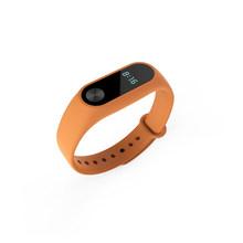 Lerxiuer silikonowe na rękę bransoletka na rękę dla Xiao mi mi band 2 pasek na nadgarstek mi band2 sportowy na rękę inteligentny bransoletka do zegarka wymiana paska(China)