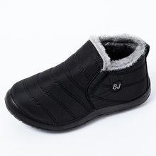 Nouvelles bottines pour femmes bottes en peluche bottes de neige chaudes femmes chaussures d'hiver femmes chaussons imperméables Bota femmes chaussures Botas Mujer(China)