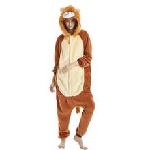 ליל כל הקדושים תלבושות אנימה קוספליי Kigurumi unicorn סטיץ Onesies עכביש איש סרבל חם סלעית פיג 'מה לילדים נשים גברים(China)