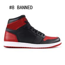 1s sapatos de basquete alta mid superior ginásio vermelho spiderman unc turbo tribunal verde roxo banido nyc para paris phantom 1 homem esporte tênis(China)