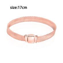 2019 hiver 100% 925 argent Sterling perle Reflexion scintillante glaçons Clips breloques ajustement Original Pandora Bracelets femmes bijoux(China)